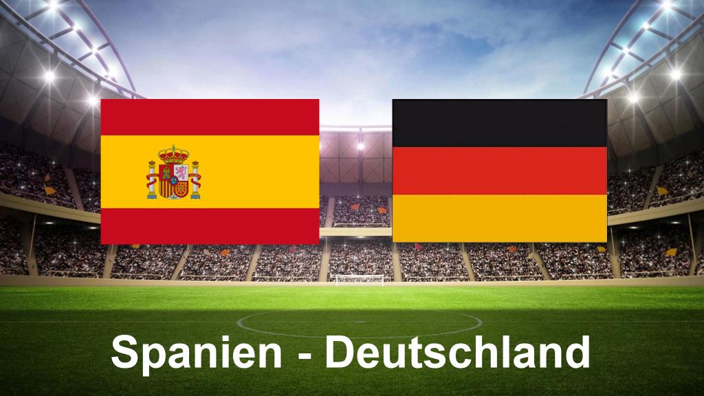 Fußball Länderspiel Deutschland Spanien