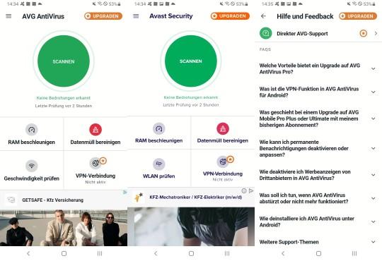 AVG AntiVirus Features©AVG, Android/Samsung