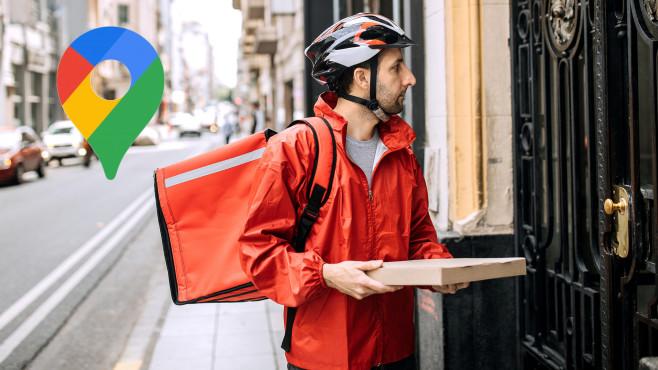 Google Maps: Ab sofort mit Pizzaboten und Menschenmassen Hey Google, wo ist mein Essen?©Google, iStock.com/Pekic