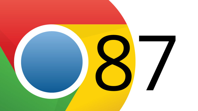 Google Chrome 87 © Google