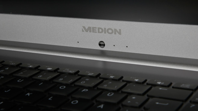 Die Webcam des Medion Akoya S17403 in der Nahaufnahme©COMPUTER BILD
