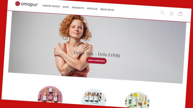 Amapur-Diät: Abnehm-Boxen jetzt 40 Prozent günstiger©Screenshot www.parfumdreams.de
