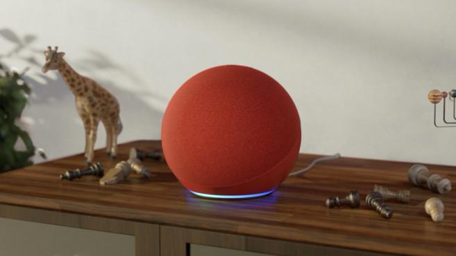 Amazon (echo) RED auf dem Schrank©Amazon