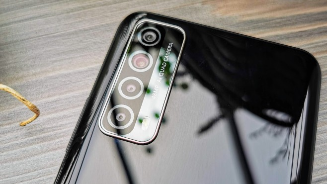 Kameras des Huawei P Smart 2021©COMPUTER BILD / Michael Huch