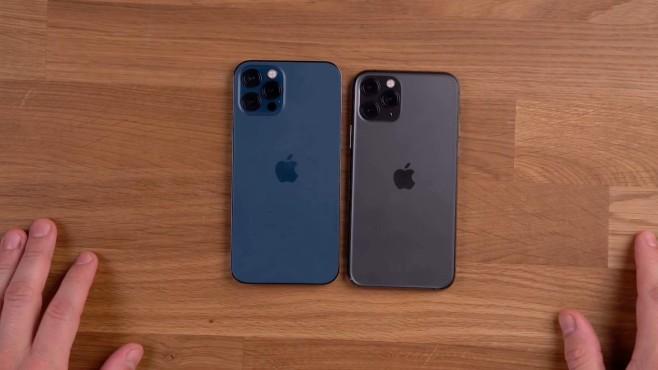 iPhone 12 Pro vs. iPhone 11 Pro: Rückseiten©COMPUTER BILD