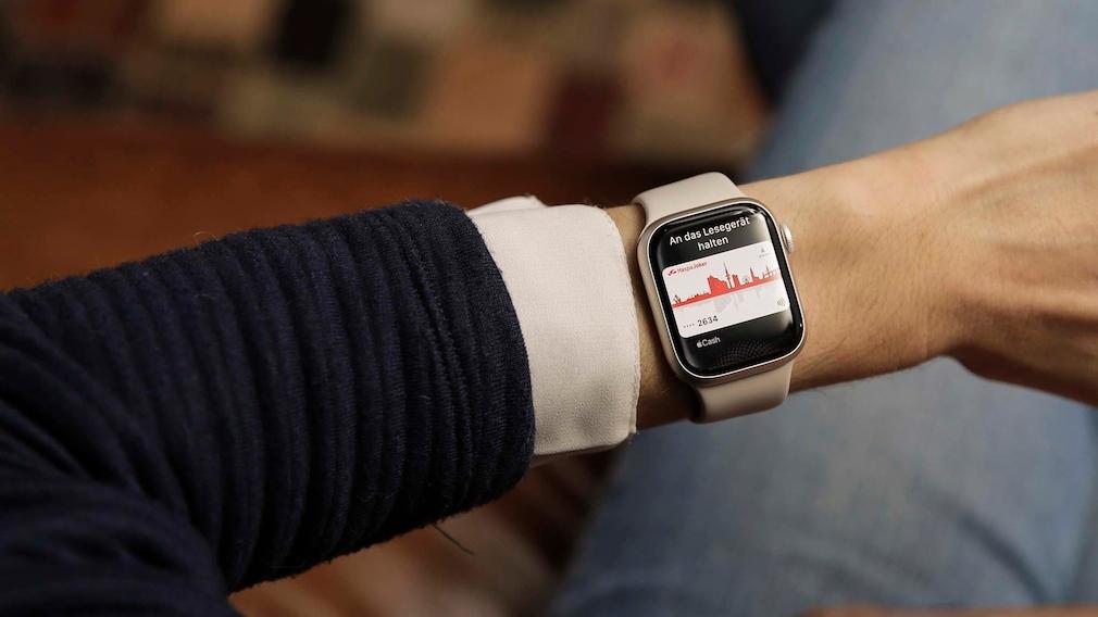Apple Pay auf der Apple Watch 7