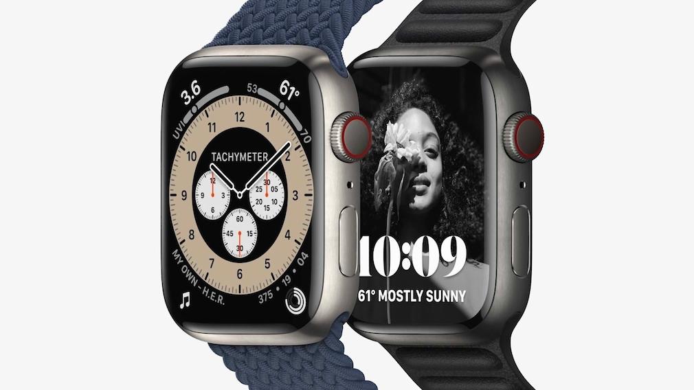 Apple Watch 7: Apple präsentiert neue Uhr mit größerem Display Das ist die Titanversion.
