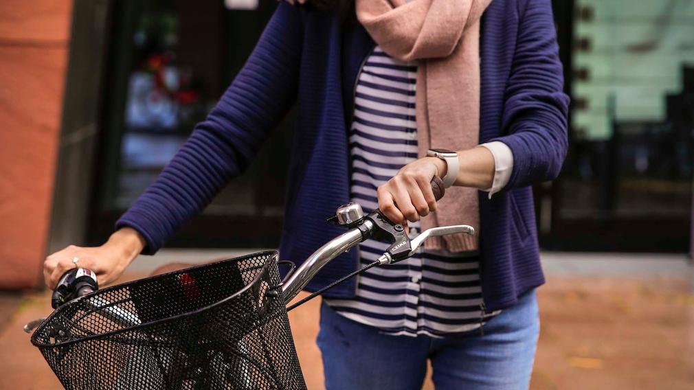 Apple Watch 7 Fahrradfahren