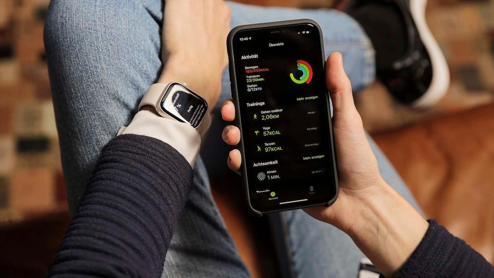 Apple Watch 7 Fitness-App
