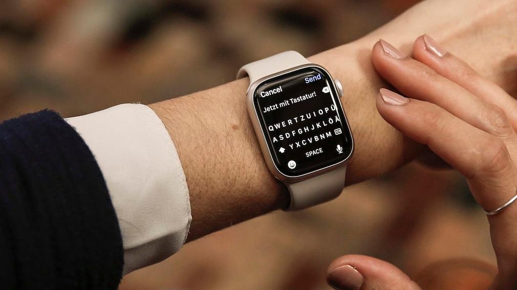 Apple Watch 7 Tastatur