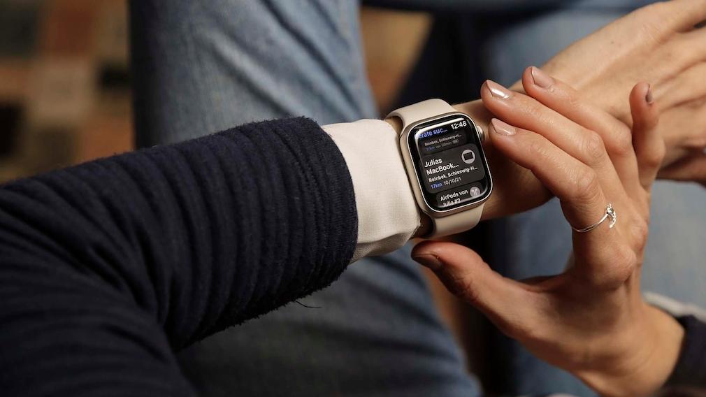 Apple Watch 7 Wo ist App