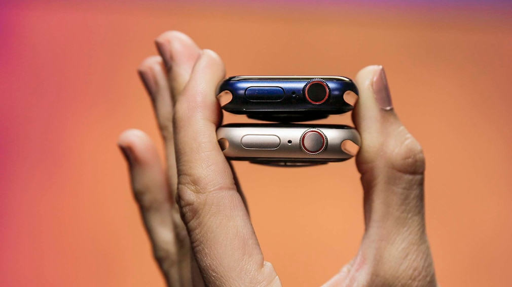 Apple Watch 7 und 6 Knöpfe