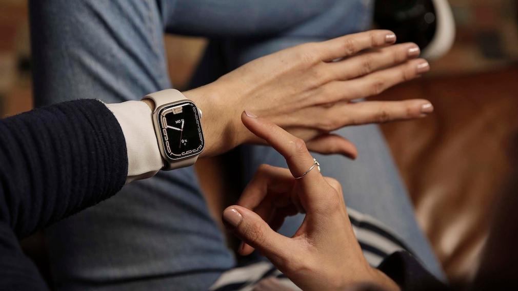 Kontur Zifferblatt Apple Watch 7