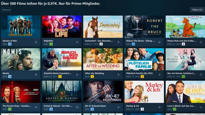 Amazon Prime Video: Übersicht Prime Deals © Amazon