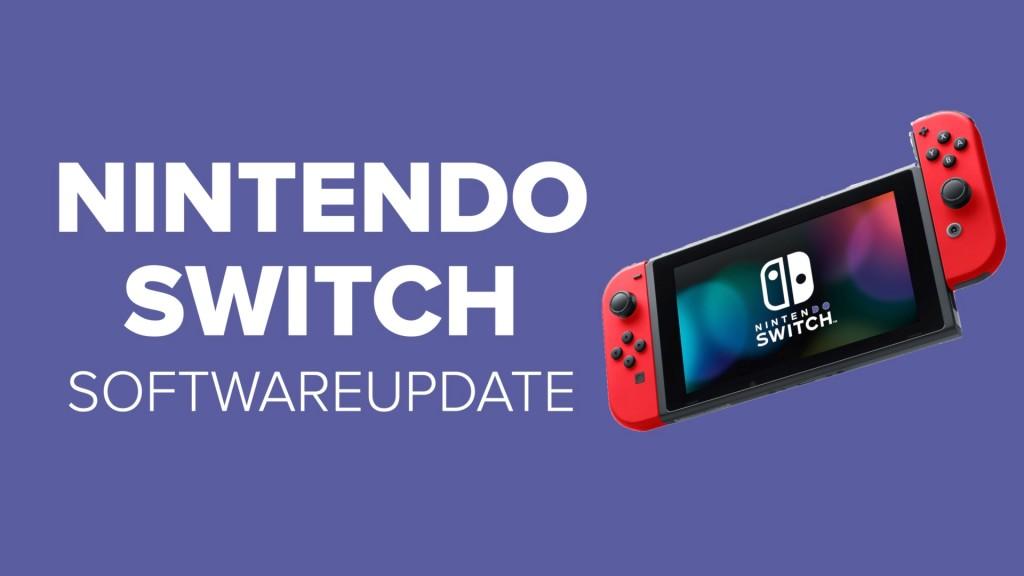 Nintendo Switch: Großes Softwareupdate