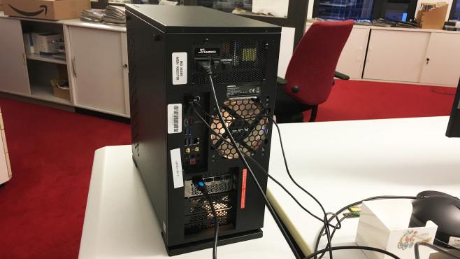 Medion Erazer Hunter X10 im Test: Aldi-PC mit RTX 3080©COMPUTER BILD, Ingolf Leschke