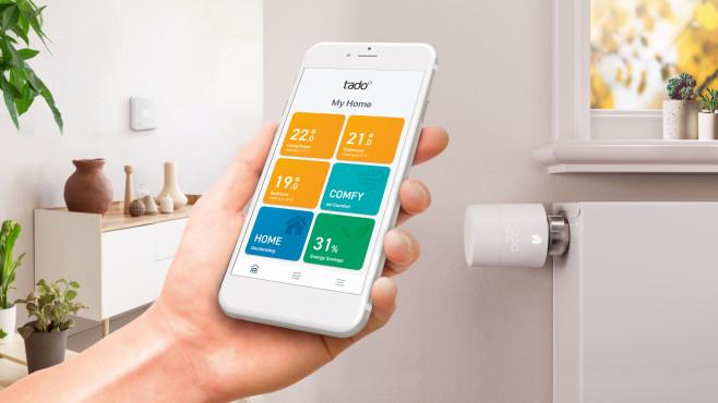 Tado-Starterset Smarte Heizkörper-Thermostate  bei tink©tado