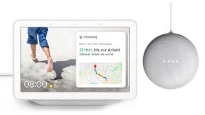 Google Nest Hub und Nest Mini bei Tink©Tink