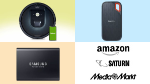 Amazon, Media Markt, Saturn: Top-Deals des Tages! © Amazon, Media Markt, Saturn, Samsung, SanDisk, iRobot
