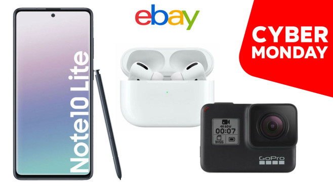 Ebay Angebote am Cyber Monday © ebay, Apple, Samsung, GoPro