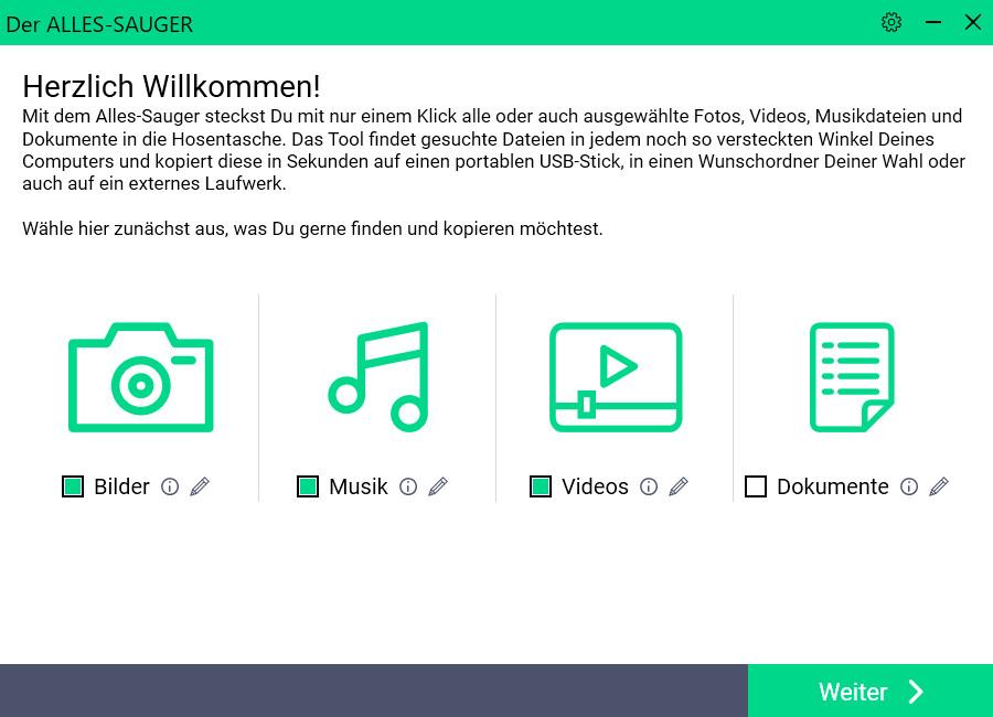 Screenshot 1 - COMPUTER BILD-Alles-Sauger