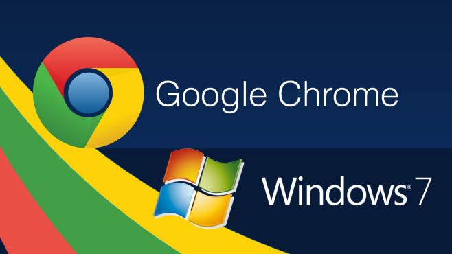 Chrome: Support für Windows 7 verlängert©Google, Microsoft