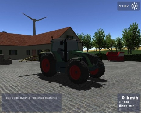Simulation Landwirtschafts-Simulator 2008: Traktor © Astragon