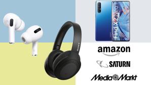 Amazon, Media Markt, Saturn: Top-Deals des Tages!©Amazon, Media Markt, Saturn, Apple, Sony, Oppo