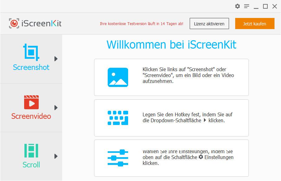 Screenshot 1 - iScreenKit