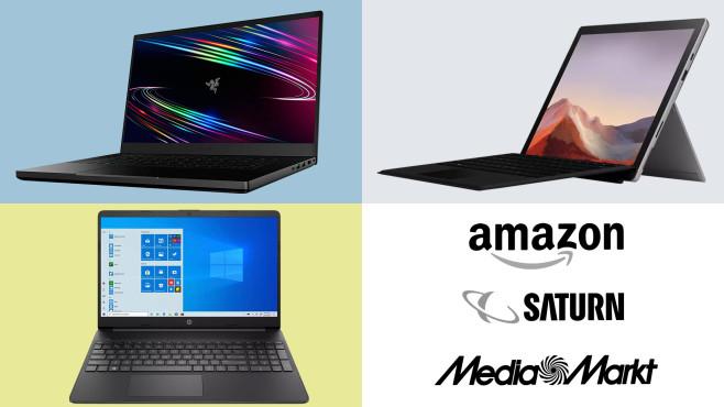 Amazon, Media Markt, Saturn: Top-Deals des Tages!©Saturn, Media Markt, Amazon, Razer, HP, Microsoft