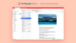 Vivaldi 3.5 Technical Preview © Vivaldi