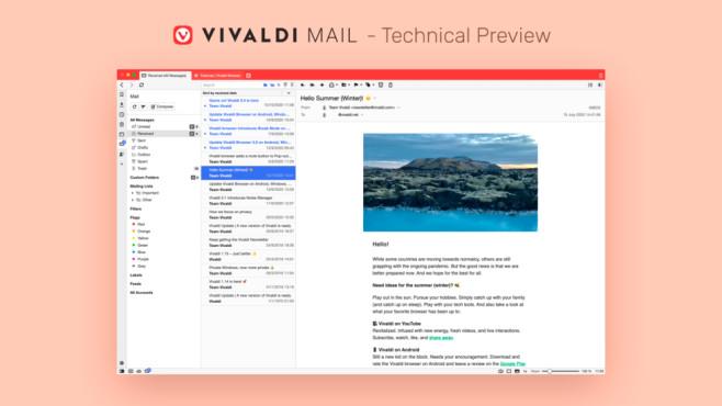 Vivaldi 3.5 Technical Preview©Vivaldi