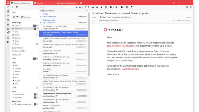 Vivaldi Mail©Vivaldi