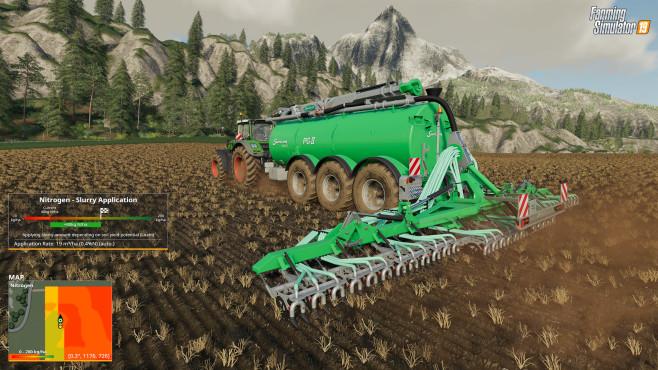 Landwirtschafts-Simulator 19 Precision Farming DLC©Astragon Giants