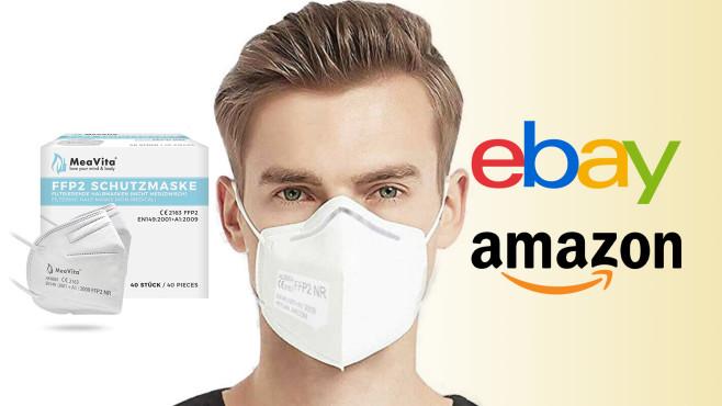 Mund-Nasen-Schutz Maske Amazon©Amazon, ebay