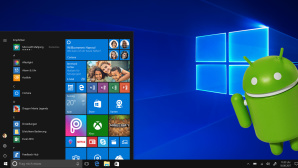 Windows 10 mit Android © Microsoft, Android