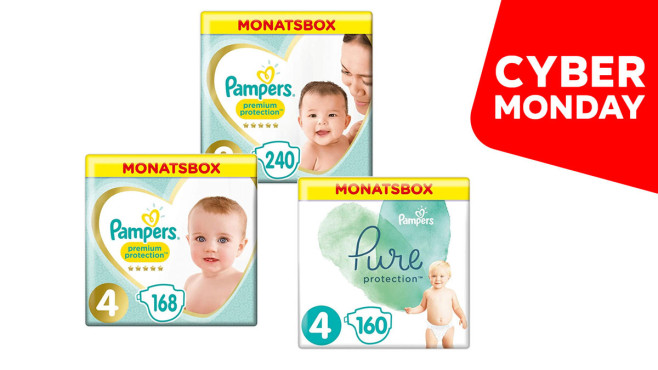 Cyber Monday Pampers©Pampers