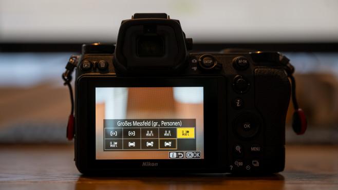 Nikon Z6 II Autofokus-Optionen©COMPUTER BILD
