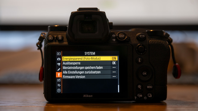 Nikon Z6 II Energiesparmodus©COMPUTER BILD