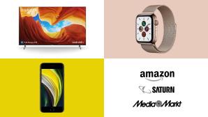 Amazon, Media Markt, Saturn: Top-Deals des Tages!©Saturn, Media Markt, Amazon, Sony, Apple