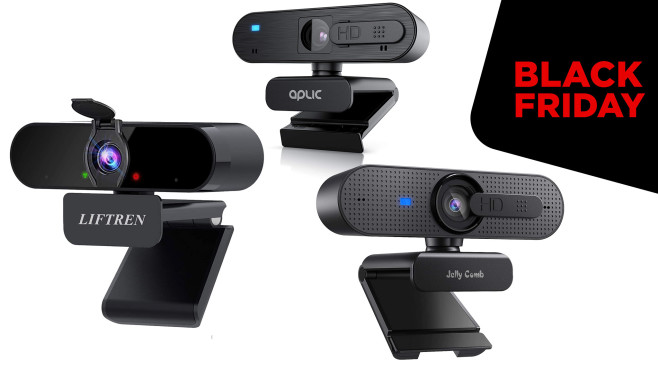 Webcams am Black Friday © Amazon
