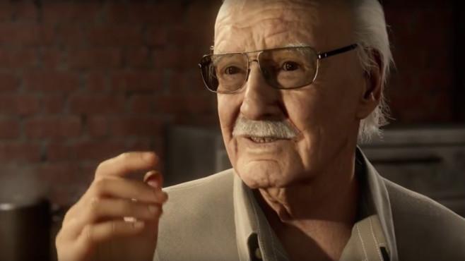 """Easter Eggs in Spielen: Die besten versteckten Gags Wie in jedem Marvel-Film hat Stan Lee auch einen Cameo-Auftritt in dem Spiel zu """"Spider-Man"""".©Sony"""