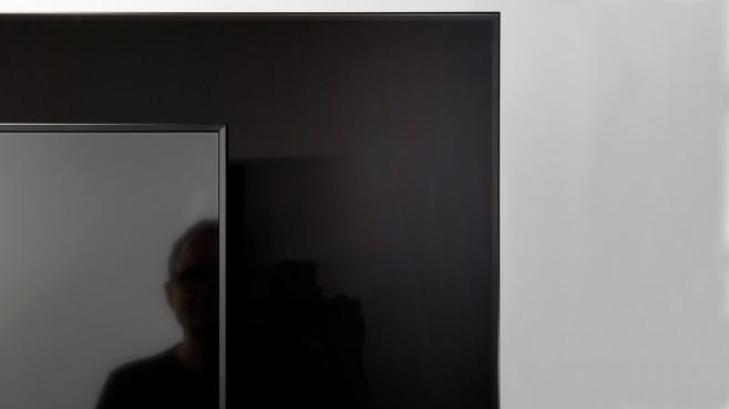 Der Bildschirm vom Samsung Q90T ist hervorragend entspiegelt.©COMPUTER BILD