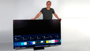 Den Samsung Q90T gibt es von 55 bis 75 Zoll. © COMPUTER BILD