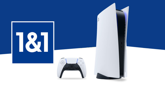 PS5 bei 1&1©1&1