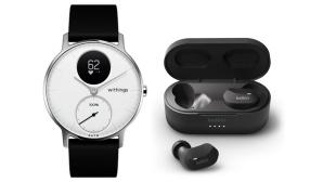 Withings-Smartwatch und Belkin-Kopfhörer©Tink