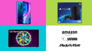 Amazon, Media Markt, Saturn: Top-Deals des Tages! © Saturn, Media Markt, Amazon, Sony, LG, Xiaomi