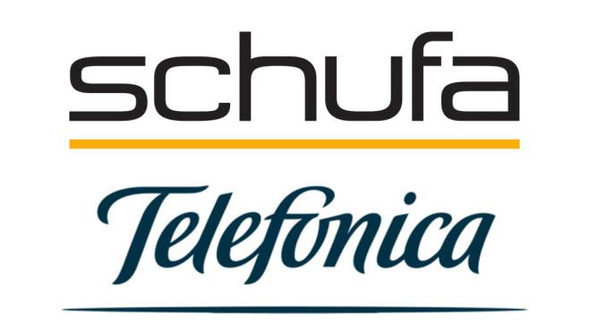 Logo Schufa und Telefónica©Schufa, Telefónica