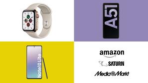 Amazon, Media Markt, Saturn: Top-Deals des Tages!©Saturn, Media Markt, Amazon, Samsung, Apple