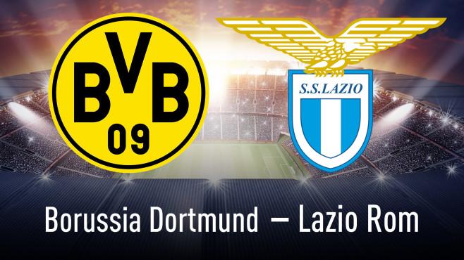 Champions League: Dortmund gegen Lazio im HD-Stream©Borussia Dortmund, Lazio Rom, iStock.com/efks